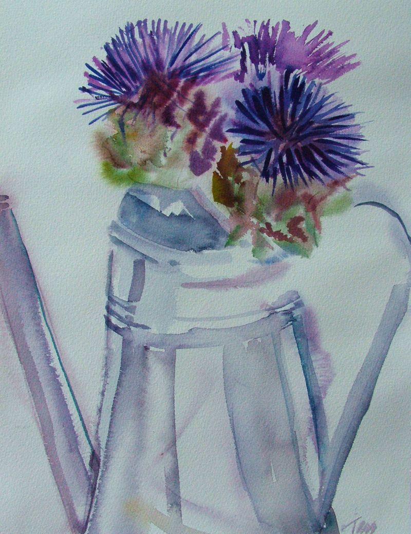 Artichike flower 4 w c